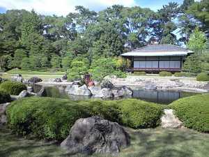Taman disekitar Ninomaru Gouten