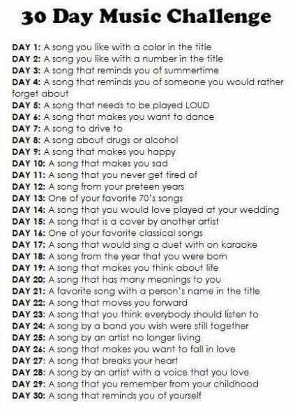 30days music